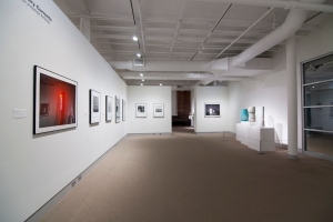 """Documentation of the exhibition """"Contemporary Currents: Nine New Brunswick Artists / Courants contemporains : neuf artistes du Nouveau-Brunswick"""" curated by George Kinghorn at University of Maine Museum of Art in Bangor, ME, USA. Exhibition runs from 23 September to 31 December, 02016, opening is 22 September at 4pm. In this exhibition we find the following artists: Erik Edson, Darren Emenau, Mathieu Léger, Neil Rough, Stephen Scott, Anne-Marie Sirois, Dan Steeves, Anna Torma and Istvan Zsako. From the website: """"Contemporary Currents: Nine New Brunswick Artists"""" highlights a diversity of creative approaches and genres—from representational to conceptual—by artists from throughout New Brunswick. Also varied is the wide range of media in the exhibition that includes ceramic, photography, oil painting, assemblage, mixed media, sculpture, and printing processes. The works in Contemporary Current underscore the refreshingly pluralist nature of contemporary art across the globe. Like the briskly moving currents of divergent thoughts winding through today's art world, these artists offer multiple points of view on the complex nature of contemporary artistic practice. This exhibition is the result of a partnership between the University of Maine Museum of Art, a cultural resource of Maine's flagship land and sea grant university, and the New Brunswick Department of Tourism, Heritage & Culture. New Brunswick has a dedicated history of supporting the professional development of artists; the majority of works featured in this exhibition were acquired for the collection of its long-standing Art Bank program. Featured artists: Erik Edson, Darren Emenau, Mathieu Léger, Neil Rough, Stephen Scott, Anne-Marie Sirois, Dan Steeves, Anna Torma and Istvan Zsako Exhibitions sponsors: Machias Savings Bank & Maine Arts Commission"""